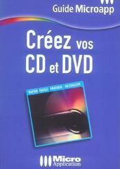 Creez Vos Cd Et Dvd - Intérieur - Format classique