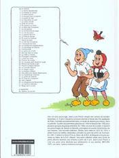Sylvain et Sylvette t.38 ; en piste les compères - 4ème de couverture - Format classique