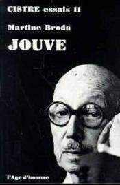 Jouve Pierre-Jean - Couverture - Format classique