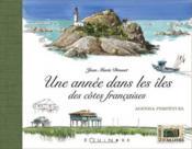Une année dans les îles des cotes françaises - Couverture - Format classique