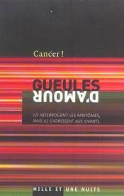 Gueules D'Amour - Intérieur - Format classique
