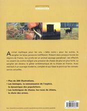 La Chasse Du Sanglier - 4ème de couverture - Format classique