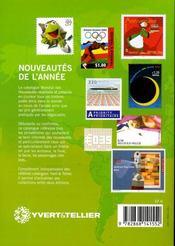 Catalogue mondial des timbres de l'année 2005 - 4ème de couverture - Format classique