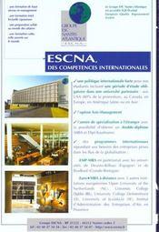 Guide Go Des Formations Internationales - 4ème de couverture - Format classique