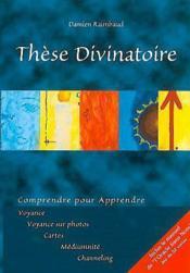 These Divinatoire (Oracle Sans Nom) - Couverture - Format classique