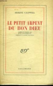 Le Petit Arpent Du Bon Dieu. - Couverture - Format classique