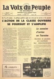 Voix Du Peuple De Touraine (La) N°1369 du 22/10/1967 - Couverture - Format classique