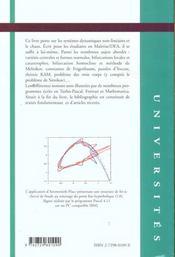 Bifurcations Et Chaos Une Introduction A La Dynamique Contemporaine Avec Des Programmes En Pascal - 4ème de couverture - Format classique