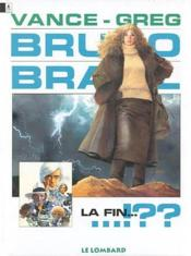 Bruno brazil t.11 ; la fin - Couverture - Format classique