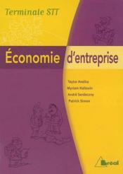 Economie D'Entreprise - Couverture - Format classique