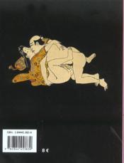 Erotique Japonaise - 4ème de couverture - Format classique