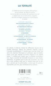 La Totalite T.6 ; La Totalite Realisee, L'Histoire - 4ème de couverture - Format classique