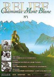 Relief T.1 ; La Revue De Chamonix Mont-Blanc - Intérieur - Format classique