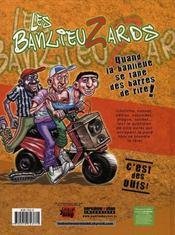 Les banlieuzards - 4ème de couverture - Format classique