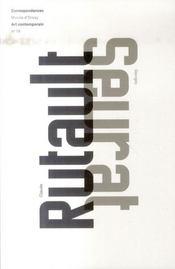 Claude Rutault ; georges Seurat - Intérieur - Format classique