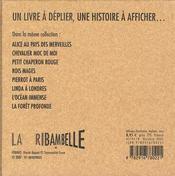 Ribambelle t.4 ; dans la forêt profonde - 4ème de couverture - Format classique