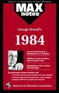 1984 (Maxnotes Literature Guides) - Couverture - Format classique