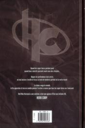 Hero Corp T.1 ; les origines - 4ème de couverture - Format classique