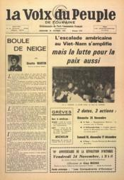 Voix Du Peuple De Touraine (La) N°1370 du 29/10/1967 - Couverture - Format classique