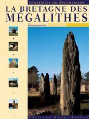 La bretagne des mégalithes - Intérieur - Format classique