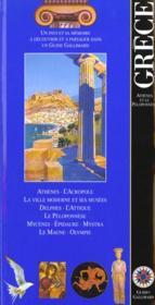 Grece (Athenes Et Le Peloponnese) - Couverture - Format classique