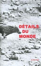 Details Du Monde - Intérieur - Format classique