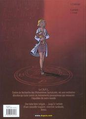 Les demons d'alexia t.1 ; l'heritage - 4ème de couverture - Format classique