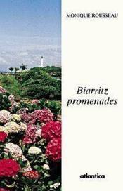 Biarritz Promenades - Couverture - Format classique