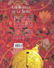 Les Routes De La Soie - 4ème de couverture - Format classique