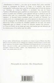 Chant Du Diable (Le) - 4ème de couverture - Format classique