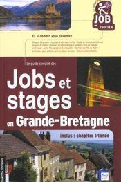 Jobs et stages en gd bretag 02 (édition 2002) - Intérieur - Format classique