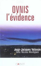 Ovnis L'Evidence - Intérieur - Format classique