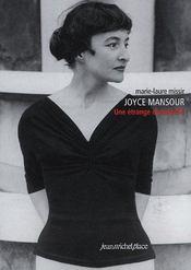 Joyce Mansour : une étrange demoiselle - Intérieur - Format classique