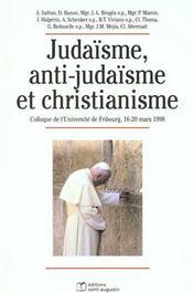 Judaisme Antijudaisme Et Christianisme - Intérieur - Format classique