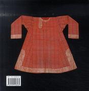 Les costumes de l'Inde - 4ème de couverture - Format classique