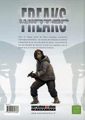 Winter freaks - 4ème de couverture - Format classique