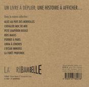 Ribambelle t.5 ; de Pierrot à Paris - 4ème de couverture - Format classique
