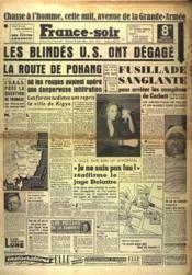 France Soir 8 Eme Edition N°1892 du 30/08/1950 - Couverture - Format classique