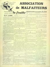 Feuille De Zo D'Axa (La) N°3 - Intérieur - Format classique