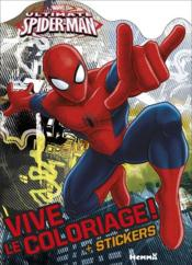 Vente livre :  VIVE LE COLORIAGE ; ultimate Spider-Man  - Collectif - Stephanie Sojic
