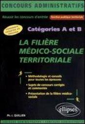 La Filiere Medico-Sociale Territoriale Categories A Et B Concours Externe Et Interne - Intérieur - Format classique