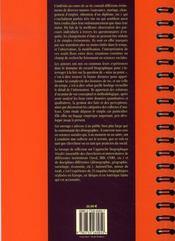 Etats Flous Et Trajectoires Complexes - 4ème de couverture - Format classique