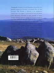 Voyages Avec Un Ane Dans Les Cevennes - 4ème de couverture - Format classique
