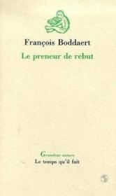 Preneur De Rebut (Le) - Couverture - Format classique