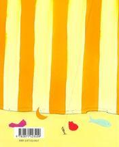 Lettre Mysterieuse - 4ème de couverture - Format classique