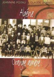 Algerie Orange Amere - Couverture - Format classique