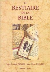 Le bestiaire de la bible - Intérieur - Format classique