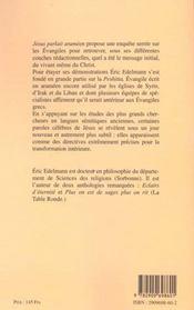 Des evangiles a jesus ; a la recherche de l'enseignement original - 4ème de couverture - Format classique