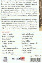 Dernier Livre (Le) - 4ème de couverture - Format classique