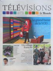 Television Le Monde du 26/03/2012 - Couverture - Format classique